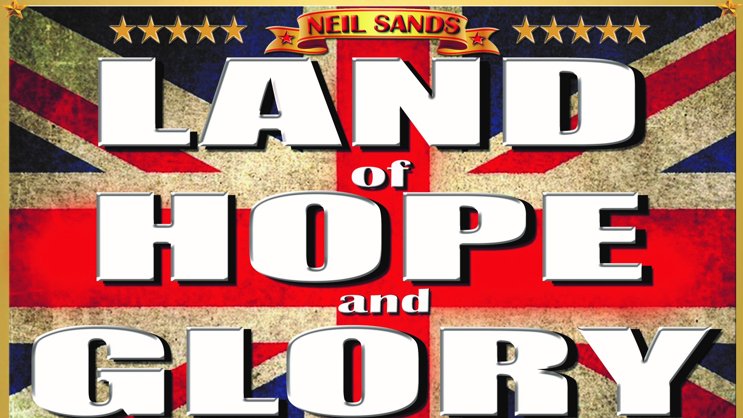 Land of hope and glory text