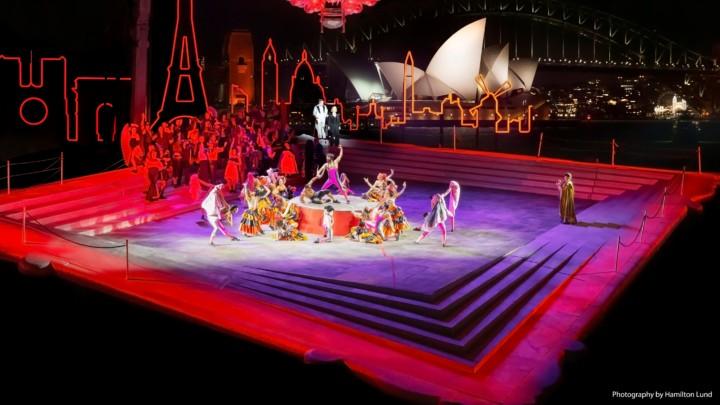 La Traviata in Sydney Harbour